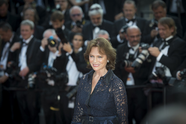 More Pics of Jacqueline Bisset Short Wavy Cut (1 of 28) - Short Hairstyles Lookbook - StyleBistro [based on a true story,fashion,event,audience,crowd,performance,fashion design,jacqueline bisset,cannes,france,cannes film festival,screening,palais des festivals]