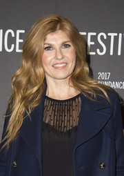 Connie Britton showed off long, lush waves at the Sundance premiere of 'Beatriz at Dinner.'