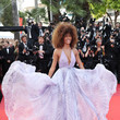 Tina Kunakey at the 2017 Cannes Film Festival