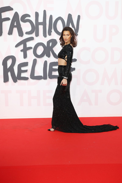 Bella Hadid Long Skirt