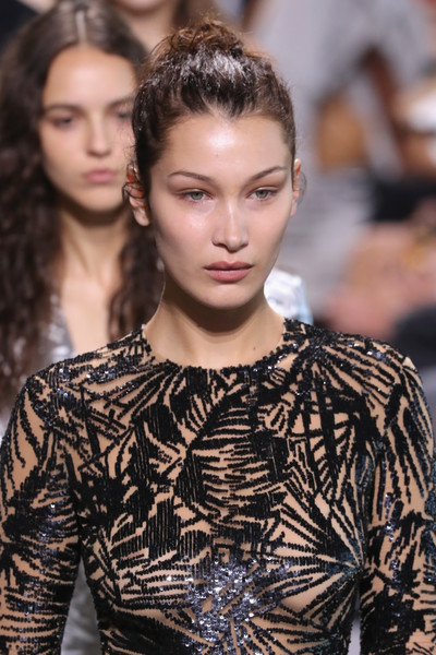 Bella Hadid Hair Knot