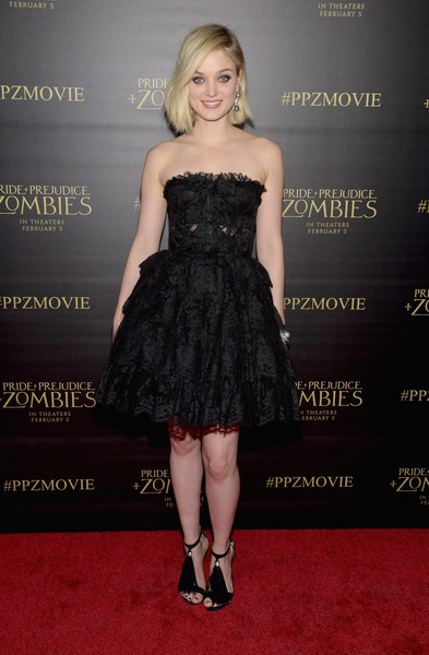 Bella Heathcote Strapless Dress