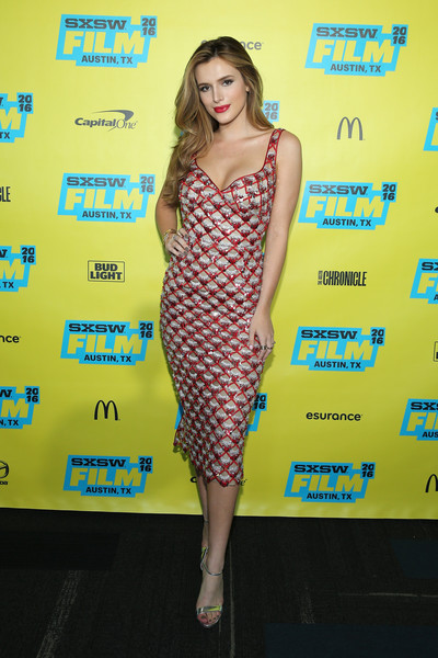 Bella Thorne Beaded Dress
