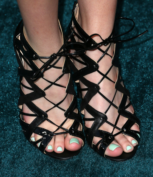 Bella Thorne Gladiator Heels