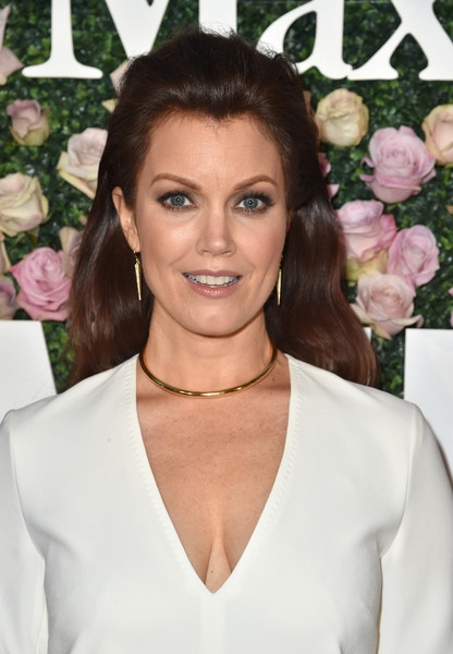 Bellamy Young Long Wavy Cut [max mara celebrates zoey deutch,the 2017 women in film max mara face of the future,bellamy young,hair,hairstyle,eyebrow,beauty,skin,blond,lip,brown hair,long hair,smile,chateau marmont,california,los angeles,max mara]