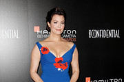 Bellamy Young Off-the-Shoulder Dress