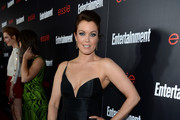 Bellamy Young One Shoulder Dress