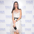 Georgina Chapman's Feathered LWD