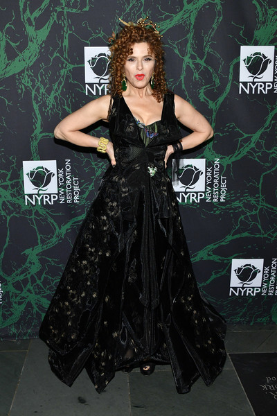 Bernadette Peters Embroidered Dress