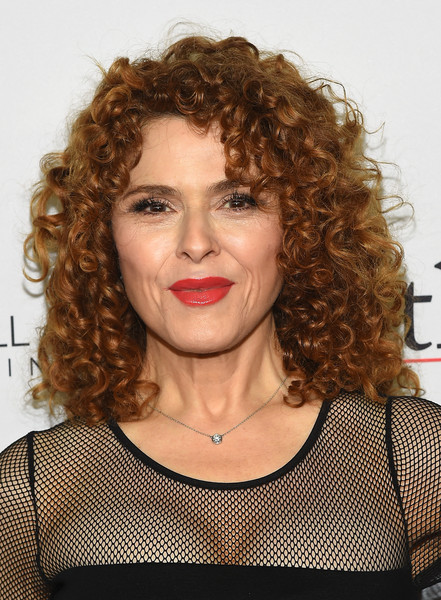 Bernadette Peters Medium Curls [the good fight world premiere,the good fight world premiere,hair,face,hairstyle,ringlet,eyebrow,chin,lip,beauty,brown hair,blond,bernadette peters,jazz,new york city,lincoln center]