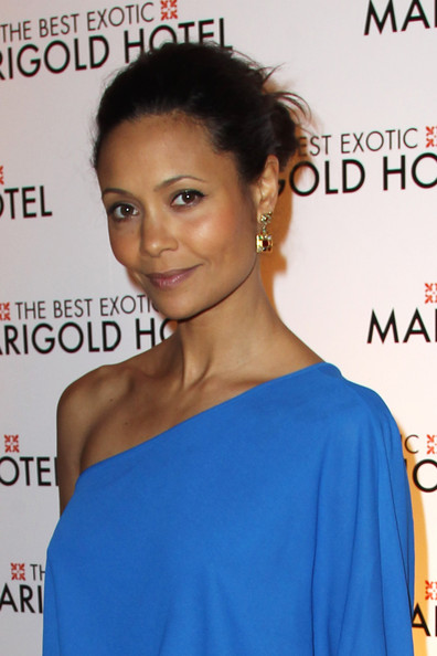 More Pics of Thandie Newton One Shoulder Dress (1 of 14) - Thandie Newton Lookbook - StyleBistro