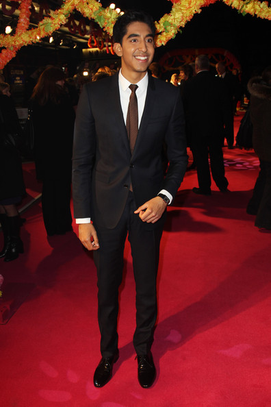 Dev Patel was all buttoned up in this classic suit ensemble.
