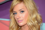 Beth Behrs Medium Wavy Cut