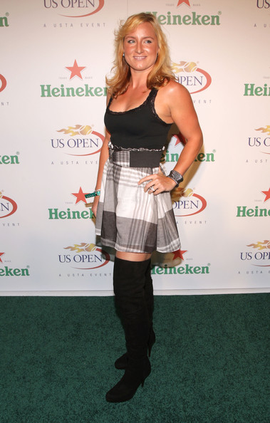 Bethanie Mattek-Sands Over the Knee Boots