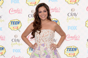 Bethany Mota Strapless Dress