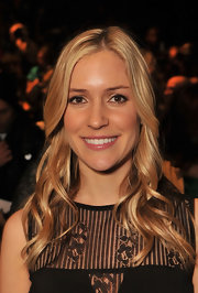 Kristin Cavallari attended the Betsey Johnson fall 2012 fashion show wearing her blond hair in flowing curls.