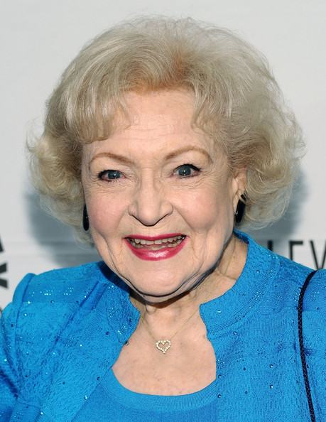 Betty White Curled Out Bob [hot in cleveland,hair,face,blond,hairstyle,lip,eyebrow,chin,head,skin,forehead,paleyfest 2011,betty white,beverly hills,california,saban theatre,paley center for media,event]