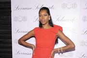 Model Jessica White  attends the launch of Lorraine Schwartz's