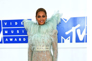 Beyonce Knowles Sheer Dress