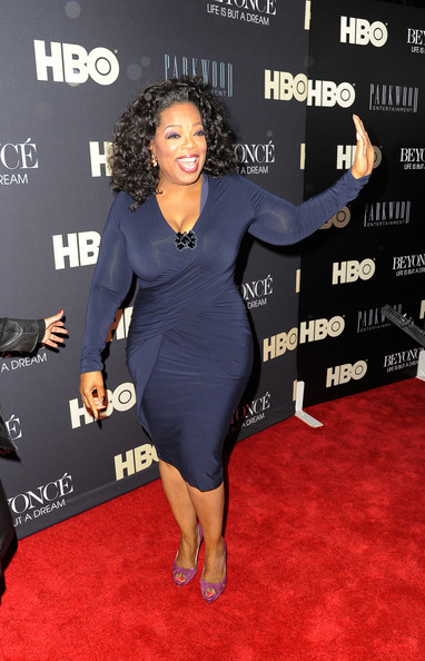 More Pics of Oprah Winfrey Medium Curls (1 of 8) - Oprah Winfrey Lookbook - StyleBistro