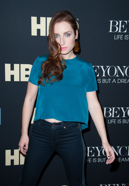 More Pics of Zoe Lister Jones Dangle Decorative Earrings (1 of 3) - Dangle Earrings Lookbook - StyleBistro