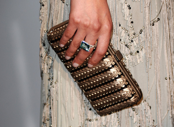 Bianca Balti Hard Case Clutch