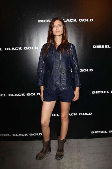 Bianca Balti Leather Jacket