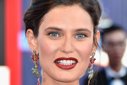 Bianca Balti Red Lipstick