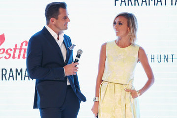 Bill Rancic Giuliana Rancic Guiliana Rancic Hosts Westfield Campaign