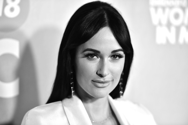 More Pics of Kacey Musgraves Long Straight Cut (2 of 5) - Kacey Musgraves Lookbook - StyleBistro [billboard,hair,face,photograph,eyebrow,skin,lip,beauty,black-and-white,hairstyle,snapshot,pier 36,new york city,13th annual women in music event,kacey musgraves]