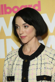 St. Vincent kept it classic and cute with this bob at the 2018 Billboard Women in Music event.