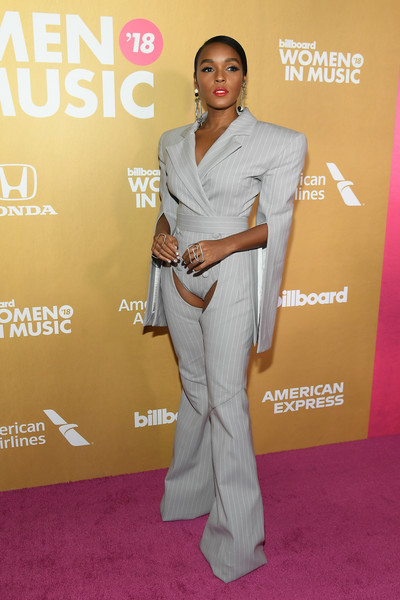 More Pics of Janelle Monae Jumpsuit (1 of 8) - Suits Lookbook - StyleBistro