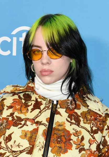 Billie Eilish Oval Sunglasses