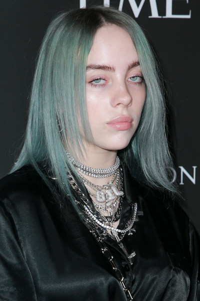 Billie Eilish Medium Layered Cut
