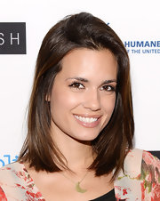 Torrey's chestnut locks shined at the 'Black Fish' premiere in Hollywood.