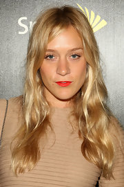 Chloe showed off her radiant blond waves at the BlackBerry launch party.
