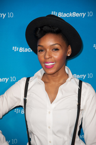 More Pics of Janelle Monae Porkpie Hat (1 of 26) - Janelle Monae Lookbook - StyleBistro