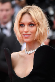 Anja Rubik rocked a messy bob at the Cannes Film Festival screening of 'BlacKkKlansman.'