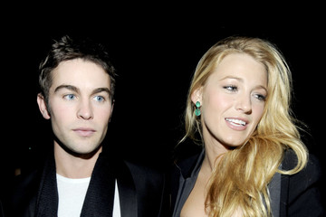 Blake Lively Chace Crawford Versace For H&M Fashion Event - Inside