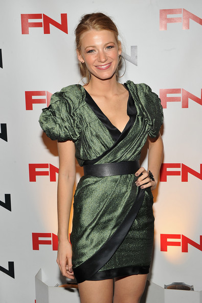 Blake Lively Neutral Nail Polish [clothing,cocktail dress,dress,premiere,carpet,shoulder,little black dress,style,thigh,annual footwear news achievement awards,the museum of modern art,new york city,blake lively]