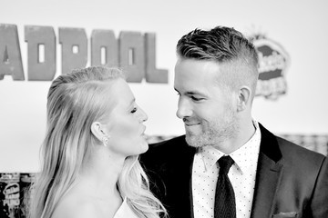 Blake Lively Ryan Reynolds An Alternative View of the 'Deadpool' Fan Event