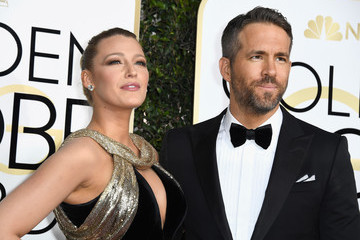 Blake Lively Ryan Reynolds 74th Annual Golden Globe Awards - Arrivals