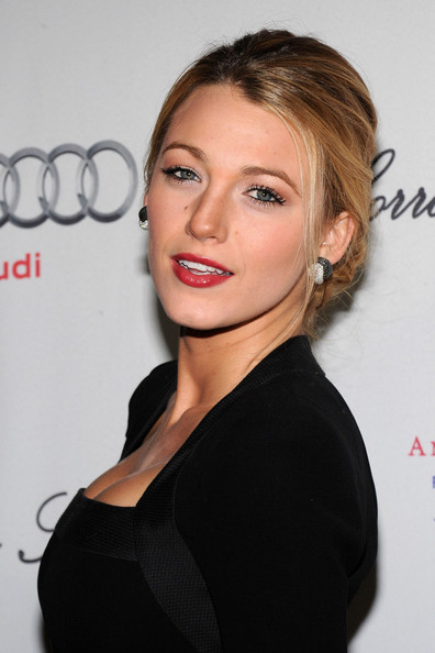 Blake Lively Pinned Up Ringlets