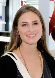 Lauren Bush kept it light at an event at Blooomingdale's by wearing sheer makeup and a hint of lip gloss.