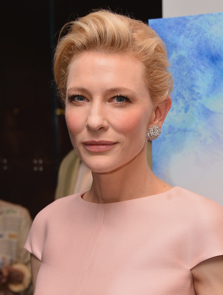 More Pics of Cate Blanchett French Twist (5 of 22) - Cate Blanchett Lookbook - StyleBistro