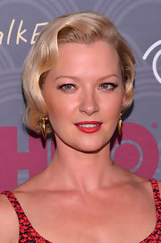 Gretchen Mol went for vintage glamour with this finger-wave hairstyle at the 'Boardwalk Empire' season four premiere.