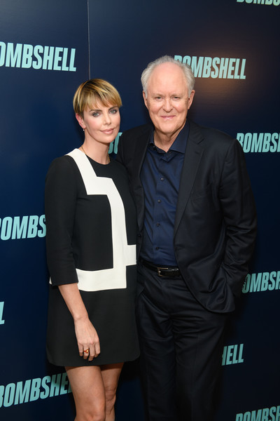More Pics of Charlize Theron Bowl Cut (8 of 9) - Bowl Cut Lookbook - StyleBistro [bombshell,premiere,event,carpet,white-collar worker,john lithgow,charlize theron,l-r,new york,screening,new york screening]