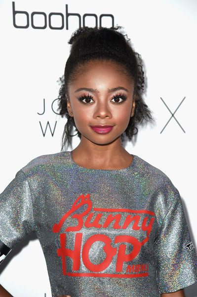 More Pics of Skai Jackson Print Dress (1 of 2) - Dresses & Skirts Lookbook - StyleBistro