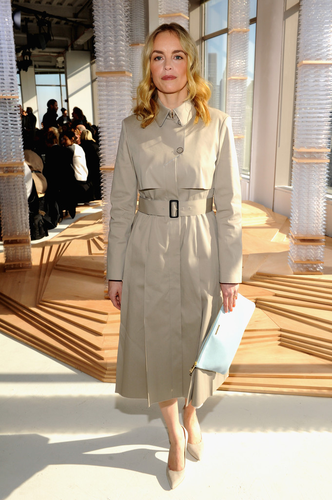 Nina Hoss At Boss Women The Best Front Row Fashions At