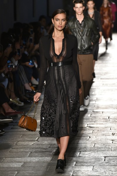 Irina Shayk at Bottega Veneta